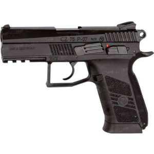 Пистолет пневматический ASG CZ 75 P-07 Duty. Корпус - металл