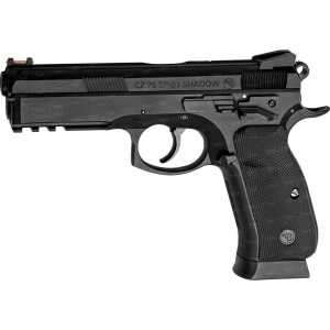 Пистолет пневматический ASG CZ SP-01 Shadow. Корпус - металл/пластик