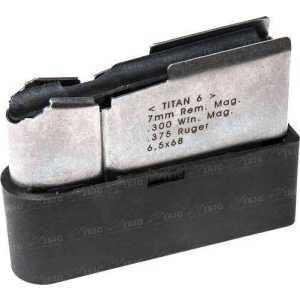 Магазин для карабина Roessler TITAN 6  кал. 7mm Rem.Mag./.300 Win.Mag./.375Ruger/6.5x68. Емкость - 4 патрона