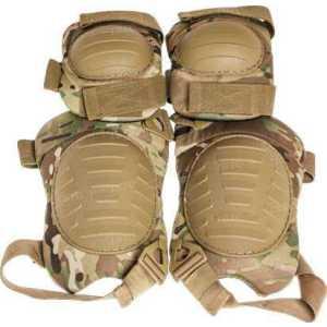 Комплект защитный Skif Tac наколенники и налокотники ц:multicam