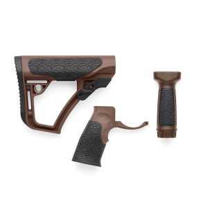 Набор Daniel Defense  (приклад,пистол.рукоятка,рукоятка перевода огня) Milspec Brown