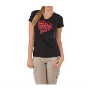 "Футболка тактическая женская ""5.11 HEART OF STEEL T-SHIRT - WOMEN`S"""