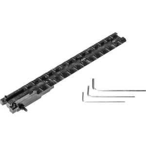 Планка АК 2000 для СКС. Weaver/Picatinny 21 мм. Длина - 17 см