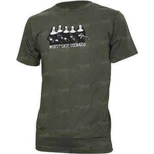 Футболка Magpul Worst Case Scenario T-Shirt. Размер - L. Цвет - Olive.