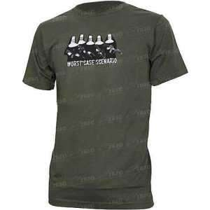 Футболка Magpul Worst Case Scenario T-Shirt. Размер - XL. Цвет - Olive.