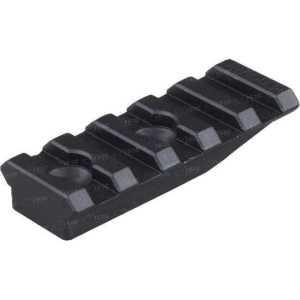 Планка Spuhr A-0003 для моноблоков и колец Spuhr. 5 слотов. Длина - 55 мм. Высота - 10 мм. Профиль - Picatinny
