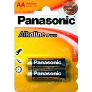 Батарея Panasonic ALKALINE POWER AA BLI 2