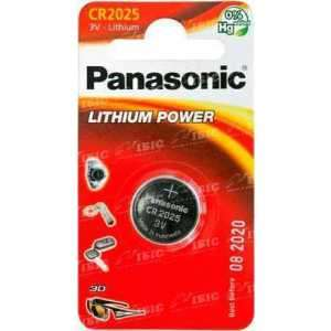 Батарея Panasonic CR 2025 BLI 1 LITHIUM