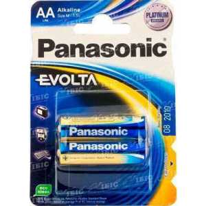 Батарея Panasonic EVOLTA AA BLI 2 ALKALINE