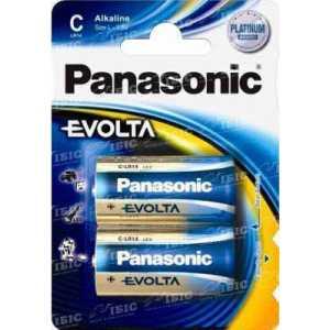 Батарея Panasonic EVOLTA C BLI 2 ALKALINE