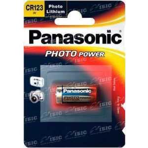Батарея Panasonic CR 123 BLI 1 LITHIUM