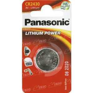 Батарея Panasonic CR 2430 BLI 1 LITHIUM