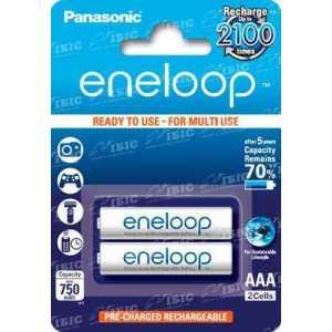 Аккумулятор Panasonic Eneloop AAA 750 mAh NI-МН 2BP