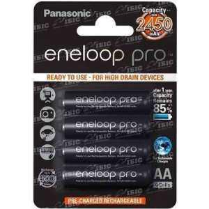 Аккумулятор Panasonic Eneloop Pro AA 2450 mAh 4BP NI-MH