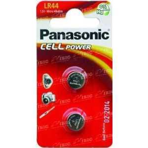 Батарея Panasonic LR44 BLI 2