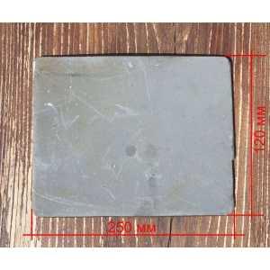Металлокерамическая бронепластина (боковая) для Бронежилета FOPC ?4 класс защиты (Стандарт Украины),