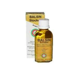 Масло для ухода за деревом Balsin 50 мл. (Светло-коричневое)