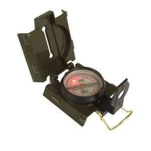 Компас армейский металлический US (светодиодная подсветка)