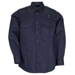 """Рубашка тактическая форменная """"5.11 Taclite PDU? Class-B Long Sleeve Shirt"""""""