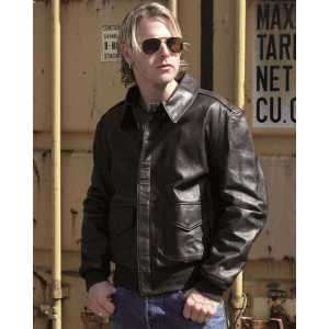Куртка лётная кожаная американская A2