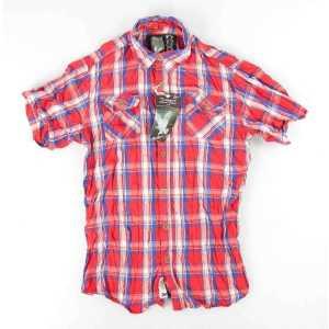 "Рубашка клетчатая ""SURPLUS TROOPER CHECK SHIRT 1/2"""