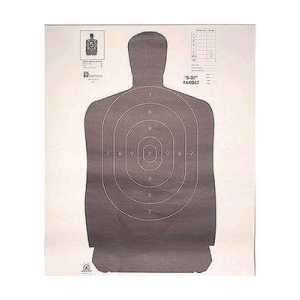 "B27B Мішень пістолетна Hoppe's 35 ""х45"""