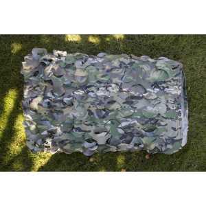 Сетка военная маскировочная на сетевой основе (1,5x6м)