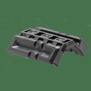 Универсальная  двойная планка Пикатинни FAB для М4, полимерная, черная