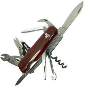 Нож Ego tools IT.02 красный с набором бит
