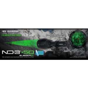 LLND3x50-SZ Фонарь лазерный Gamo 50mm Sub Zero