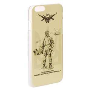 """Чехол пластиковый для мобильного телефона Iphone 6/6s """"P1GTac Герої не вмирають..."""""""