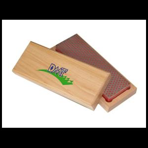 """DMT 6 """"точильний камінь абразивний алмазний Whetstone ™ тонкий в дерев'яній коробці"""